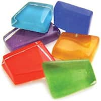 Assorted Sparkle - Crafter's Cut Mosaic Tiles .5Lb