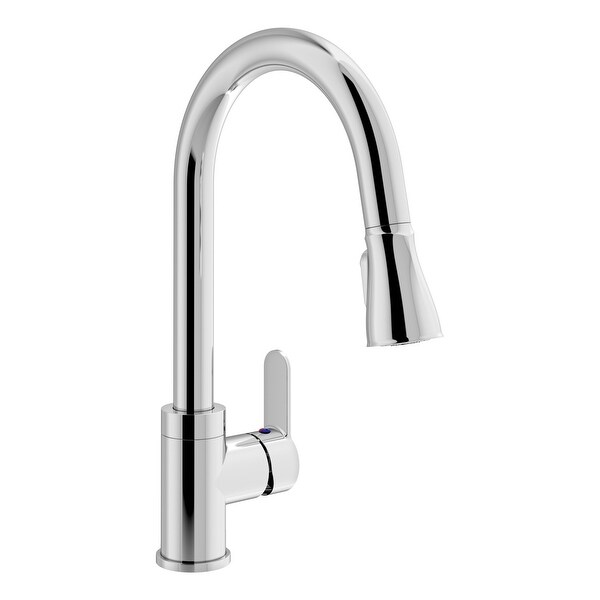 Symmons S-6710-PD-1.5 Identity 1.5 GPM Single Hole Pull Down Kitchen Faucet - Polished Chrome