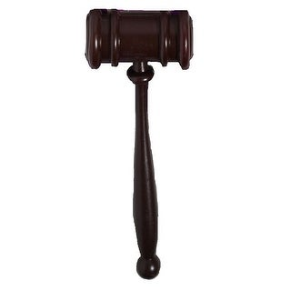Judge Court Gavel Costume Prop