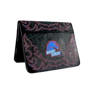 Gameday iPad Case Boise Distressed Leather Black