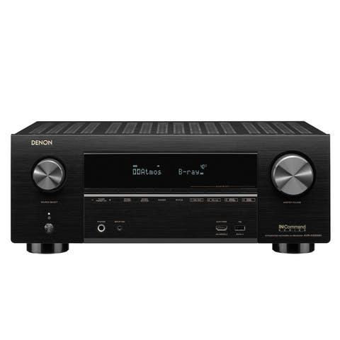 Denon AVR-X3500H 7.2-Channel 4K Ultra HD AV Receiver with HEOS (Factory Certified Refurbished)