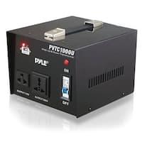 """Pyle Audio PYLPVTC1000UB Pyle PVTC1000U Step Up and Step Down 1000 Watt AC 110/220 V Converter Transformer"""