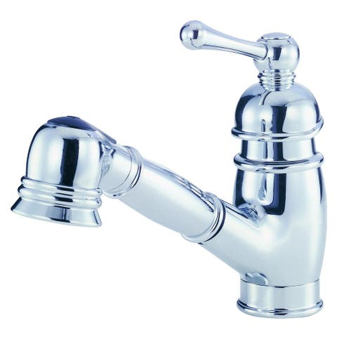 Opulence 1H Pull-Out Kitchen Faucet 1.75gpm Aeration/2.2gpm Chrome