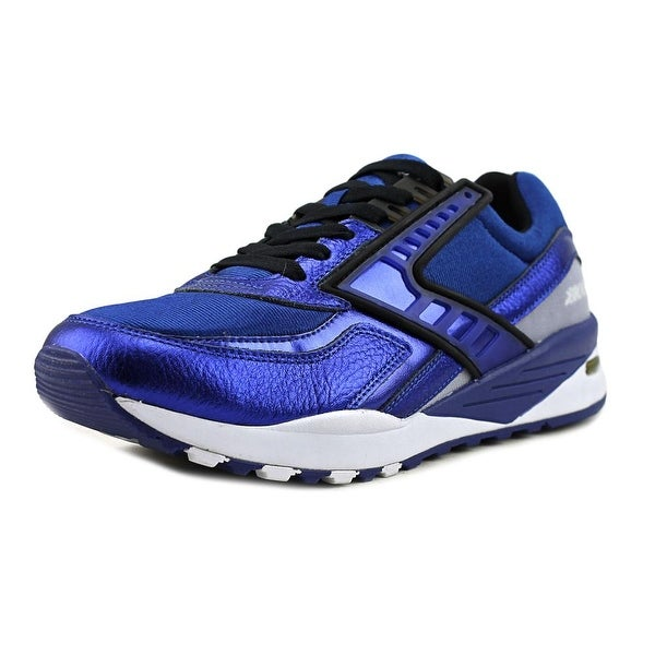 Brooks Regent Men Round Toe Synthetic Blue Sneakers
