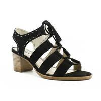 Dune London Womens Ivanna Black Sandals Size 7