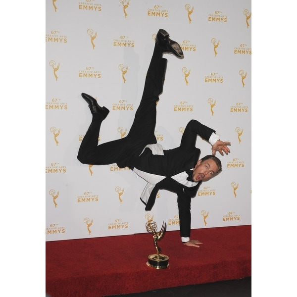 Derek Hough In The Press Room For 2015 Primetime Creative Arts Emmys -  Press Room The Microsoft Theater Los Angeles Ca September