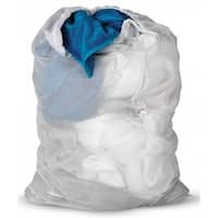 24 in. X 36 in. White Mesh Laundry Bag