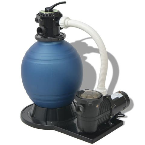 vidaXL Sand Filter with Pool Pump 18 inch 1 HP 4740 GPH