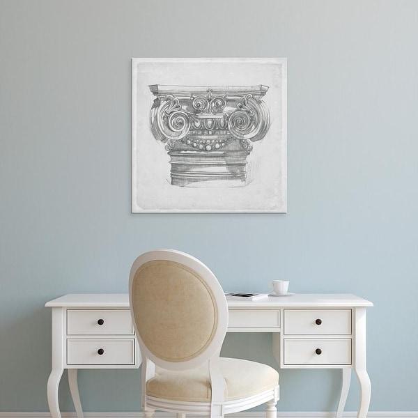 Easy Art Prints Melissa Wang's 'Capital Study I' Premium Canvas Art