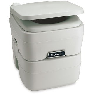Dometic corporation dometic 965 portable toilet 5.0 gallon platinum 311096506