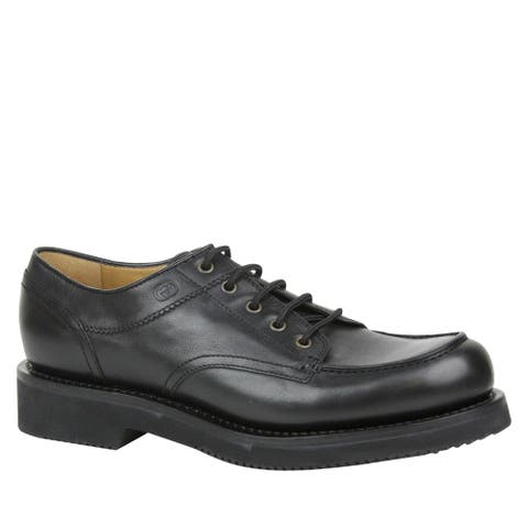 Gucci Men's Lace up Black Leather Oxford Shoes with Platform 352954 1000