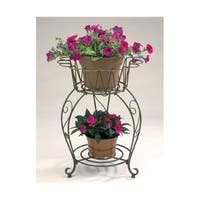 Deer Park D68 PL201X 20 In. Metal Round Planter