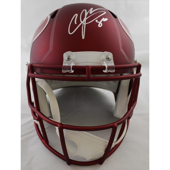 Shop Andre Johnson Autographed Houston Texans Blaze Replica Helmet JSA -  Free Shipping Today - Overstock - 19547426 b6a8d8ac5