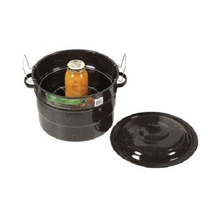Granite Ware 0707-3 Covered Canner With Rack, 21-1/2 Quarts