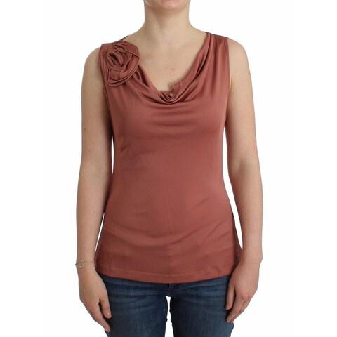 Galliano Galliano Pink top sleeveless blouse - XXS