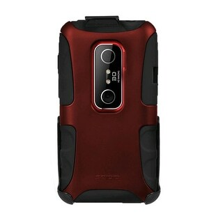 Seidio DILEX Case and Holster Combo for HTC EVO 3D - Burgundy