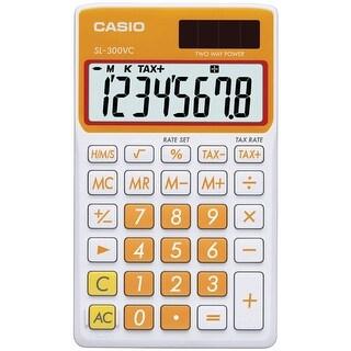 Casio(R) - Sl300vcoesih - Orange Solar Wallet Calc