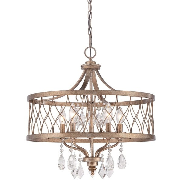 Minka Lavery 4404-581 5 Light Single Tier Chandeliers from the West Liberty Collection - olympus gold