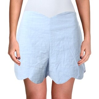 Link to Aqua Womens Shorts Scalloped Heathered Similar Items in Women's Shorts