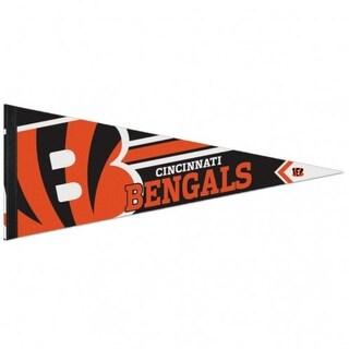 Cincinnati Bengals Pennant 12x30 Premium Style