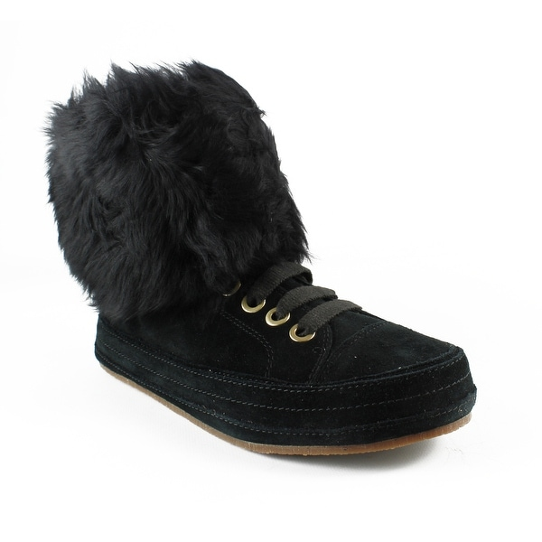Shop Ugg Womens 1019110 Black Snow Boots Size 6 5 Free