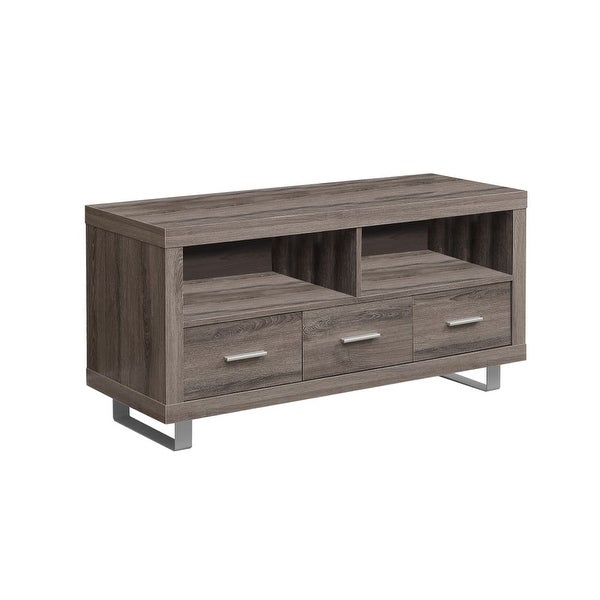 Shop Monarch Specialties I 3250 48 Inch Wide Tv Stand With 3 Drawers