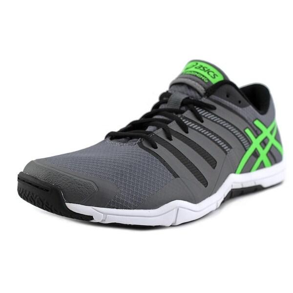Asics Met-Conviction Men Titanium/Green Gecko/Black Running Shoes