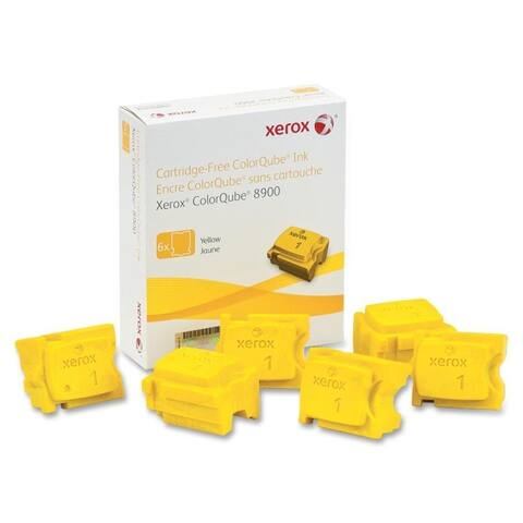 Xerox supplies 108r01016 6pk yellow ink stick for