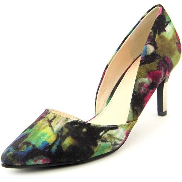 Bar III Natalie Pointed Toe Canvas Heels