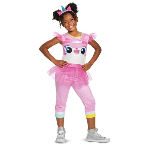 Disguise Unikitty Classic Child Costume - Pink/White