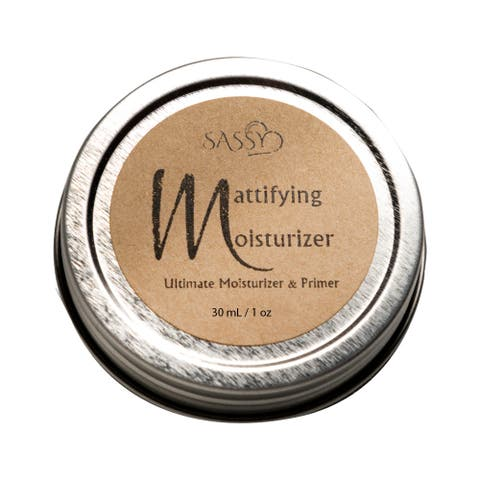 Sassy Skin Care Ultimate Mattifying Moisturizer and Primer - Nourishes, Smooths and Softs Skin