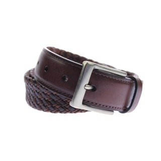 Tommy Bahama Mens Leather Buckle Casual Belt