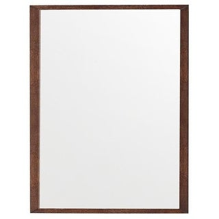 James Martin Furniture Columbia 48 in. Mirror, Latte Oak