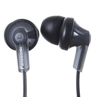 Panasonic RP-HJE120-PPK In-Ear Headphone, Black (REFURBISHED) (Option: Silver)