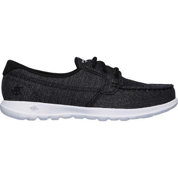 GOwalk Lite Coast Boat Shoe Black