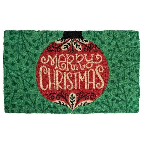 Ornament Handwoven Coconut Fiber Doormat