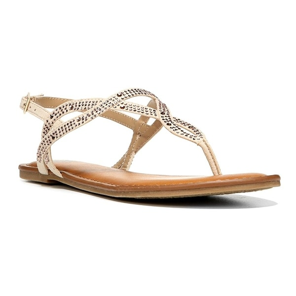 Fergalicious Womens Sylvia Open Toe Casual Slingback Sandals