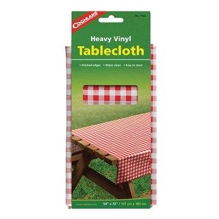 "Coghlan's 7920 Heavy Vinyl Tablecloth, 54"" L x 72"" W"