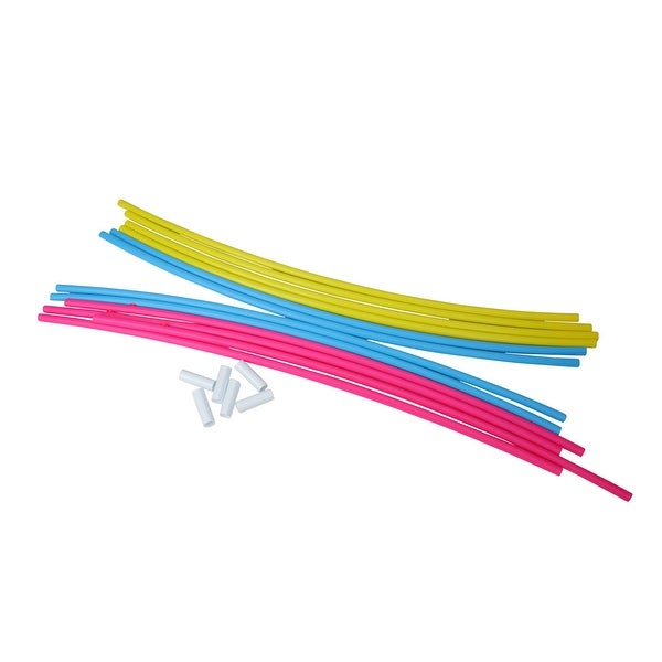 Shop 22 Quot Pink Blue And Yellow Underwater Slalom Hoops For