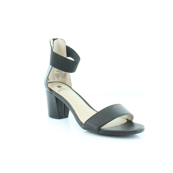 White Mountain Elinie Women's Sandals & Flip Flops Black/Smooth