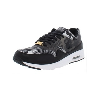 Nike Womens Air Max 1 Ultra BHM QS Athletic Shoes Printed Low Top 6.5 Medium (B,M) | Shopping The Best Deals on Athletic