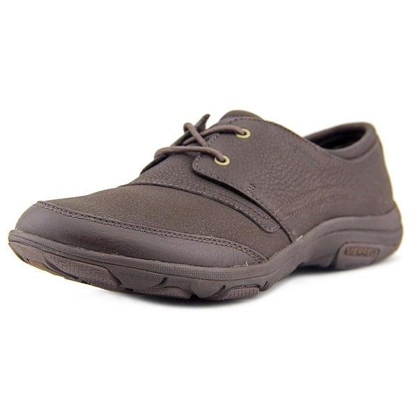 Merrell Dassie Tie Round Toe Leather Walking Shoe
