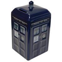 Doctor Who Ceramic TARDIS Bank - Multi