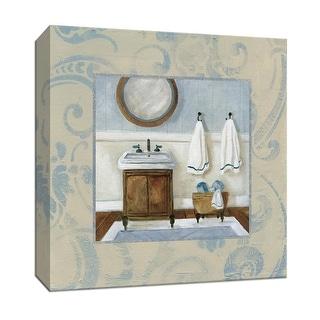 "PTM Images 9-147024  PTM Canvas Collection 12"" x 12"" - ""Cozy Bath I"" Giclee Bathroom Art Print on Canvas"