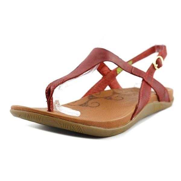 18a5ee87a26 Shop Ahnu Salena Red Stone Sandals - Free Shipping On Orders Over ...