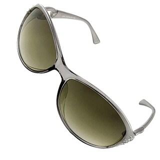 Women Rhinestone Decor Outdoor Shopping Sunglasses