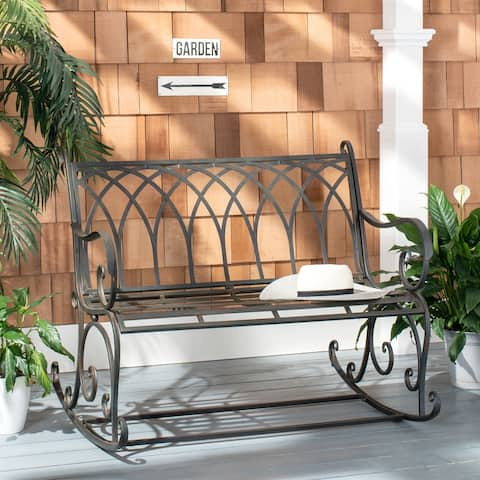 "Safavieh Outdoor Living Ressi Rock Bench - 43.3""x32.6""x36.6"""