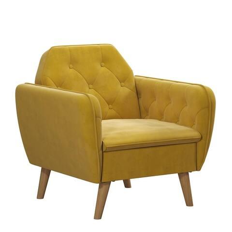 Novogratz Tallulah Memory Foam Accent Arm Chair