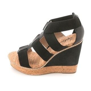 Splendid Womens Klever Fabric Open Toe Special Occasion Platform Sandals