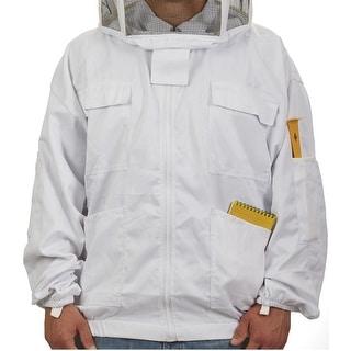 Little Giant JKT2XL Beekeeping Jacket, XX-Large, White
